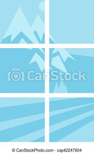 Elementos vectoriales de la casa - csp42247604