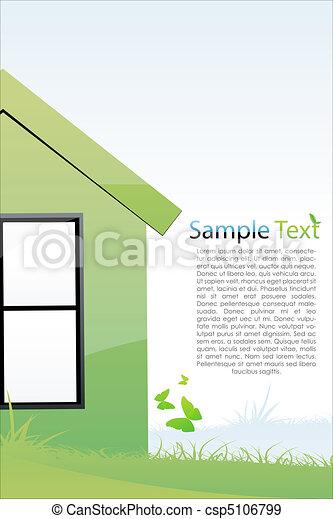Casa verde - csp5106799