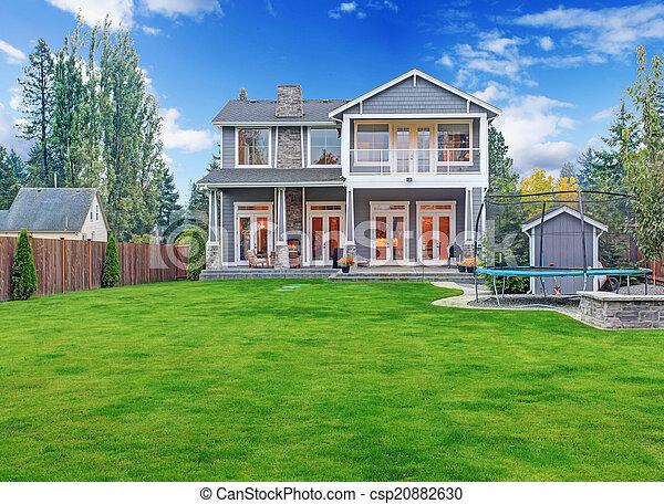 Casa Vista Lujo Exterior Traspatio