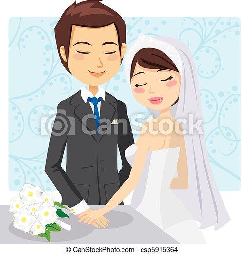 casado, apenas - csp5915364
