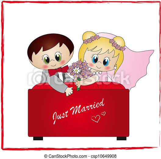 Recién casados - csp10649908