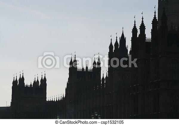 Casas del Parlamento - csp1532105