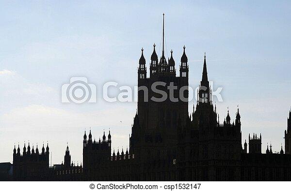 Casas del Parlamento - csp1532147