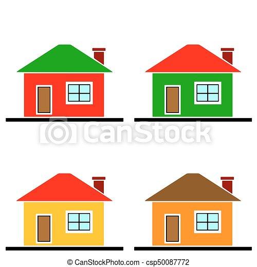 casas vetorial jogo coloridos jogo coloridos casas vetorial