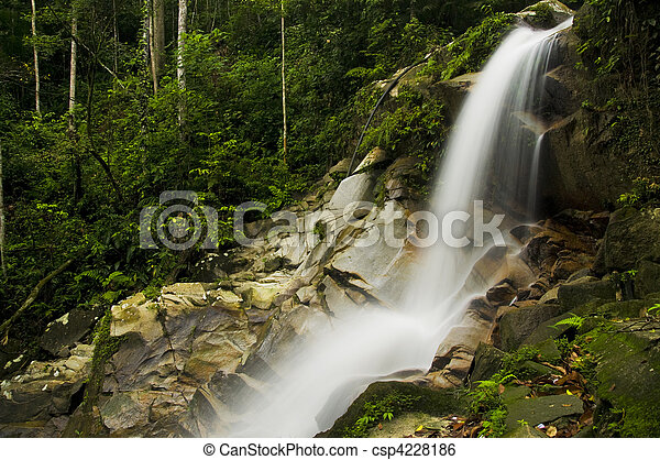 Cascada verde - csp4228186