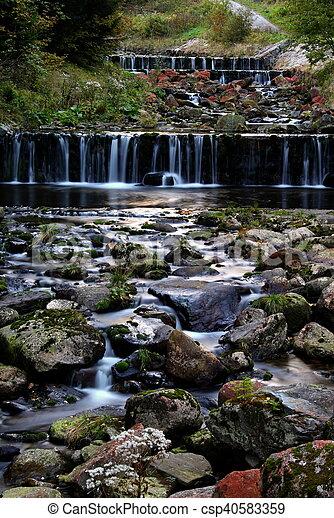 Cascade waterfall - csp40583359