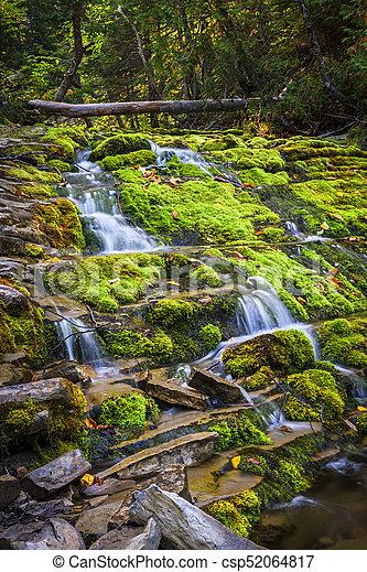 Cascading waterfall - csp52064817