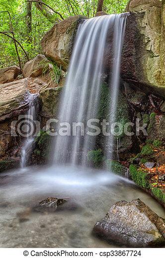 cascading waterfall - csp33867724