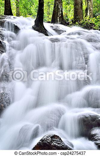 cascading waterfall - csp24275437