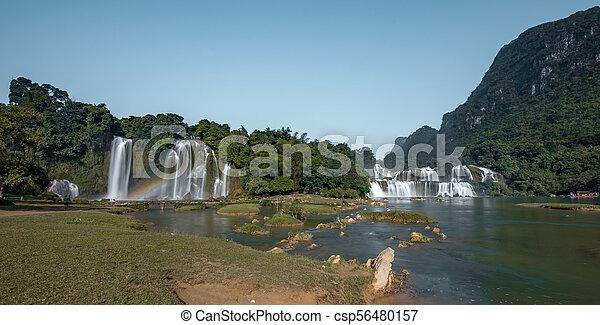 cascata, bando, gioc/detian - csp56480157