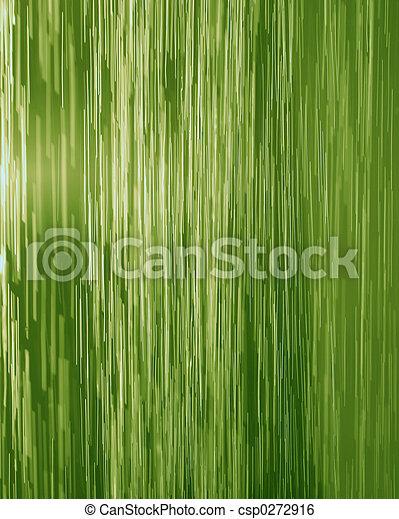 cascata, verde - csp0272916