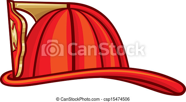 El casco de bombero - csp15474506