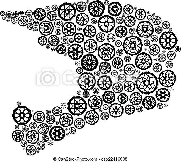 casco, chainrings - csp22416008