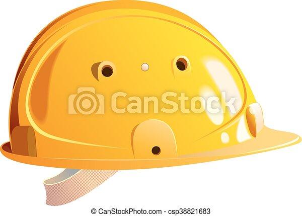 Constructor de cascos amarillos - csp38821683
