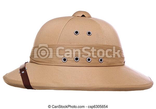 El casco se cortó - csp6305654