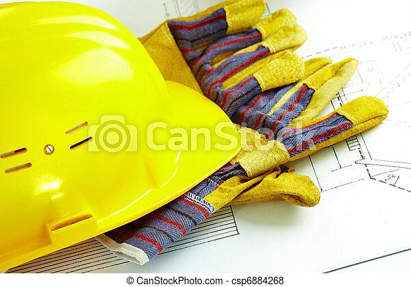 casco, guantes - csp6884268