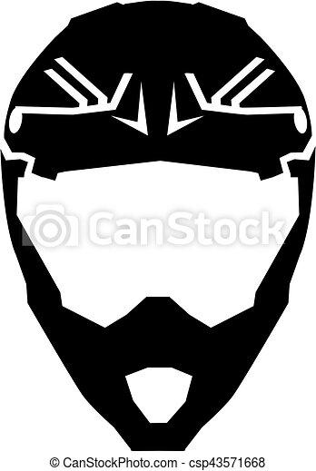 Casco, motocross vector clip art - Buscar dibujos e ...
