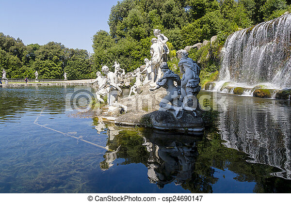 Caserta Royal Palace - csp24690147