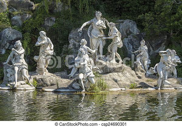Caserta Royal Palace - csp24690301