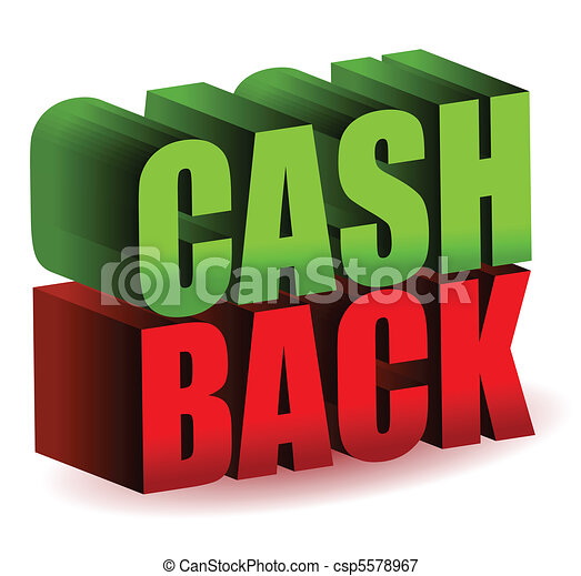 Cash back 3d text illustration design isolated over a white... vectors illustration - Search ...