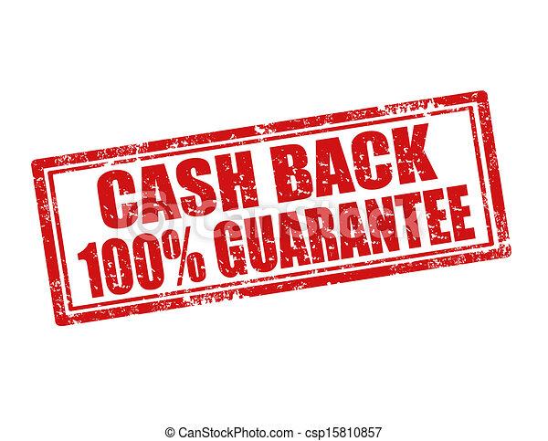 Cash Back-stamp - csp15810857