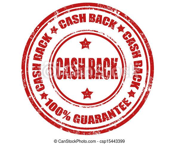 Cash back-stamp - csp15443399