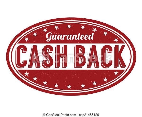 Cash back stamp - csp21455126