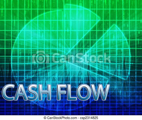 Cash flow budgeting - csp2314825