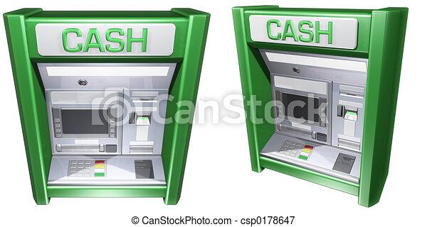 Cash Machine ATM - csp0178647