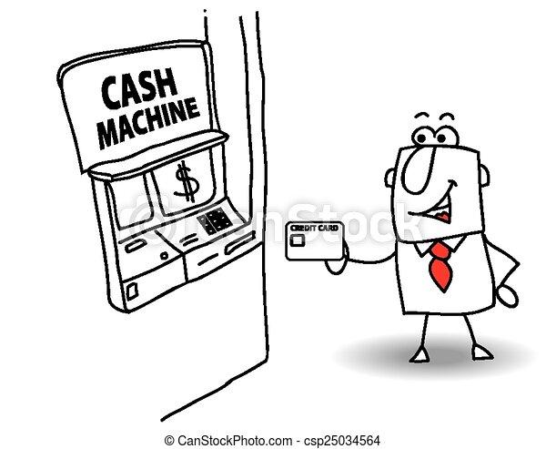 Cash Machines Stock Illustrations 11084 Cash Machines Clip Art