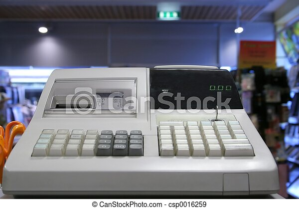 Cash register - csp0016259
