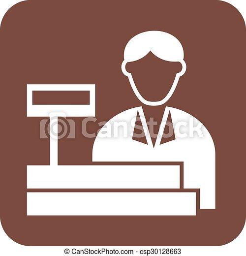 Cashier - csp30128663
