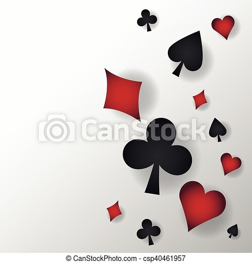Casino And Cards Symbols Of Poker Design Cards Symbols Of Poker
