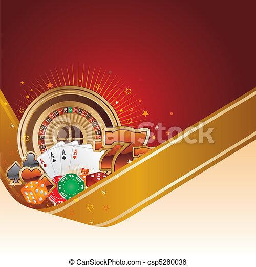 casino background - csp5280038