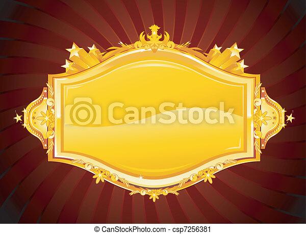 Pancarta de casino - csp7256381