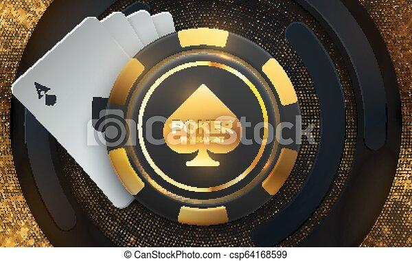 Casino banner concept. - csp64168599
