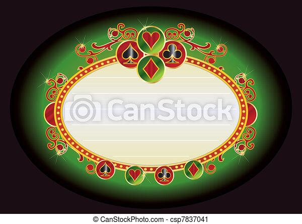 casino bilboard - csp7837041
