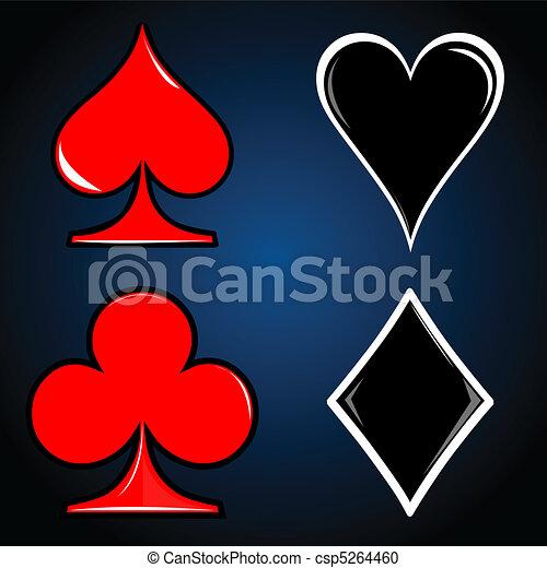 casino card - csp5264460