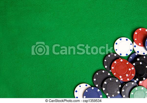 Casino Chip Background - csp1359534