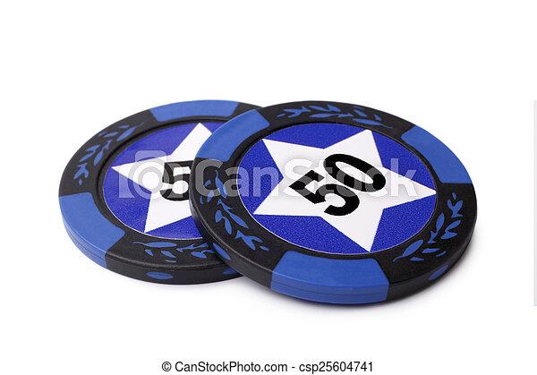 Casino chips - csp25604741
