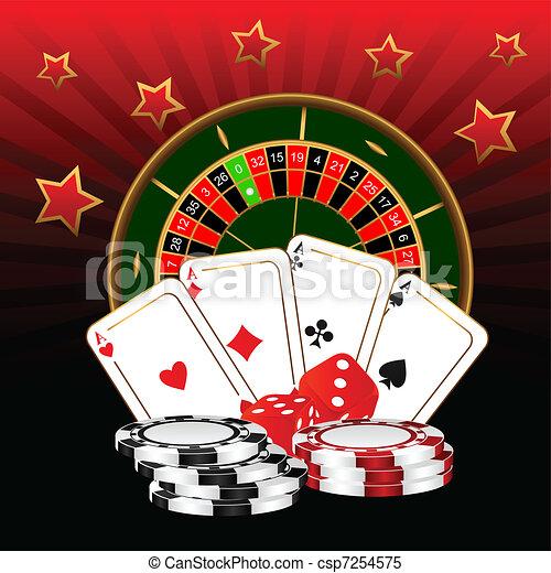 Casino. - csp7254575