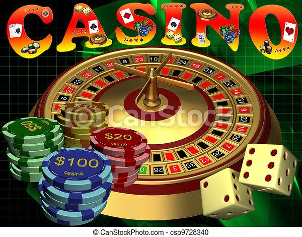 Casino - csp9728340