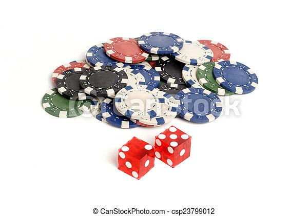 Casino Dice Casino Dice - csp23799012