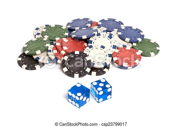 Casino Dice - csp23799017