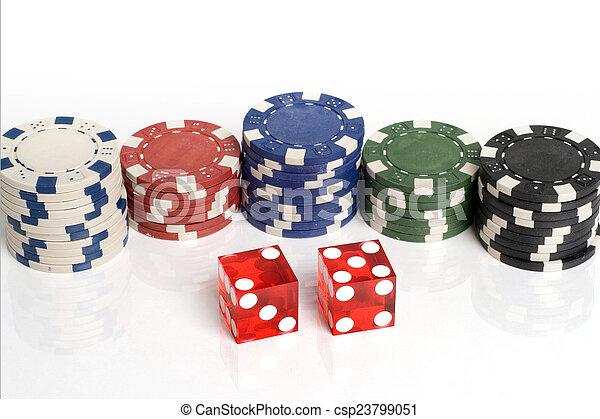 Casino Dice - csp23799051