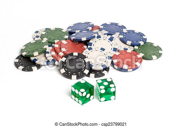 Casino Dice - csp23799021