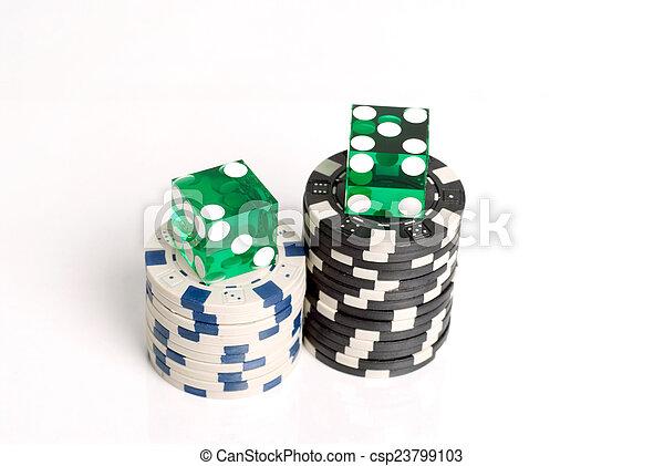 Casino Dice - csp23799103