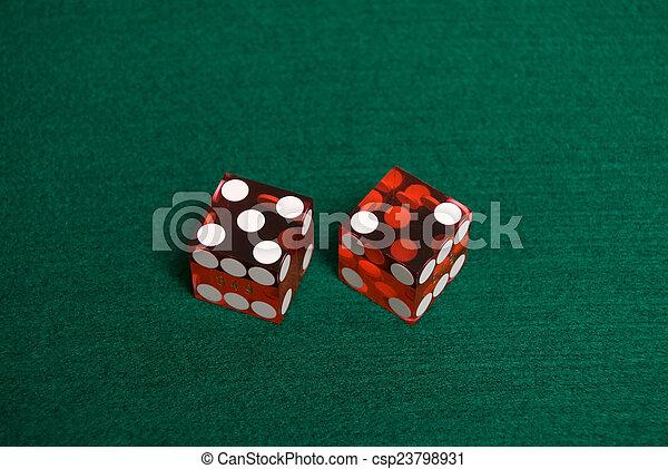 Casino Dice - csp23798931
