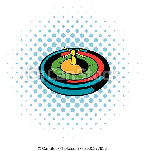 casino gambling roulette icon comics style casino gambling rh canstockphoto ca gambling clip art images free gambling clipart images