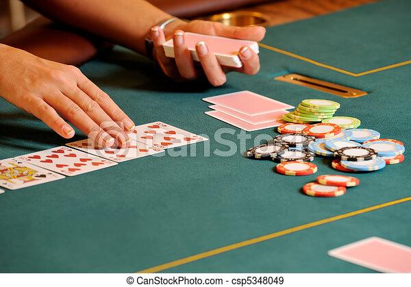 Casino hands - csp5348049